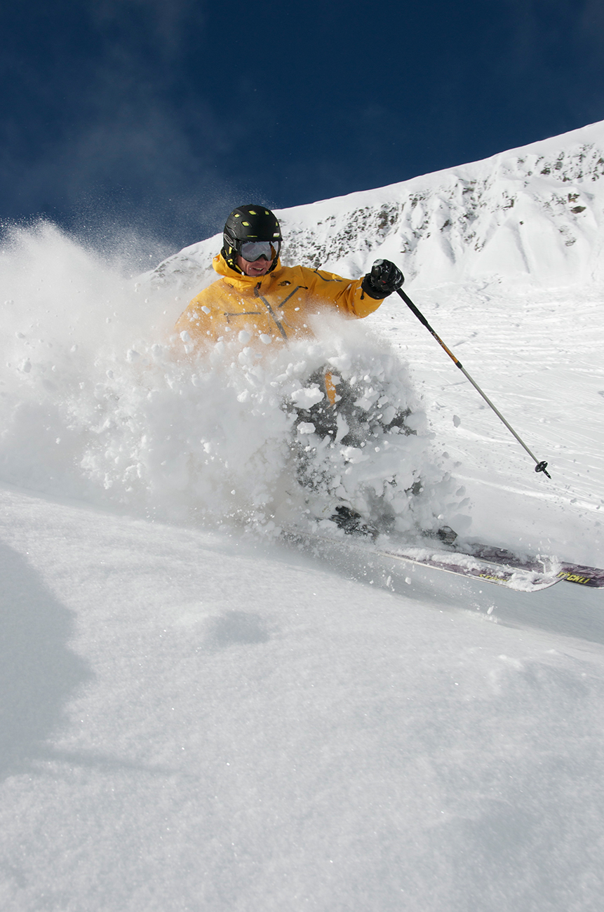 Yellowstone Club's Private Powder offers the finest skiing conditions in the world.