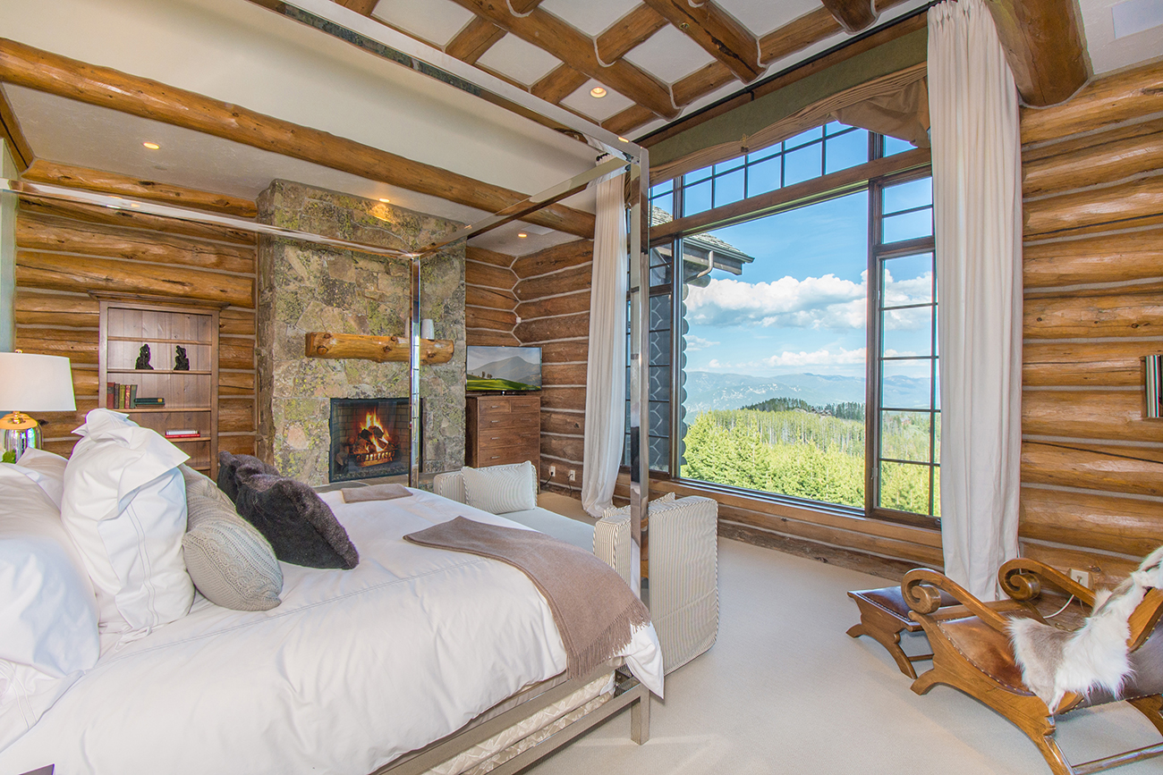 Wake up to breathtaking views.