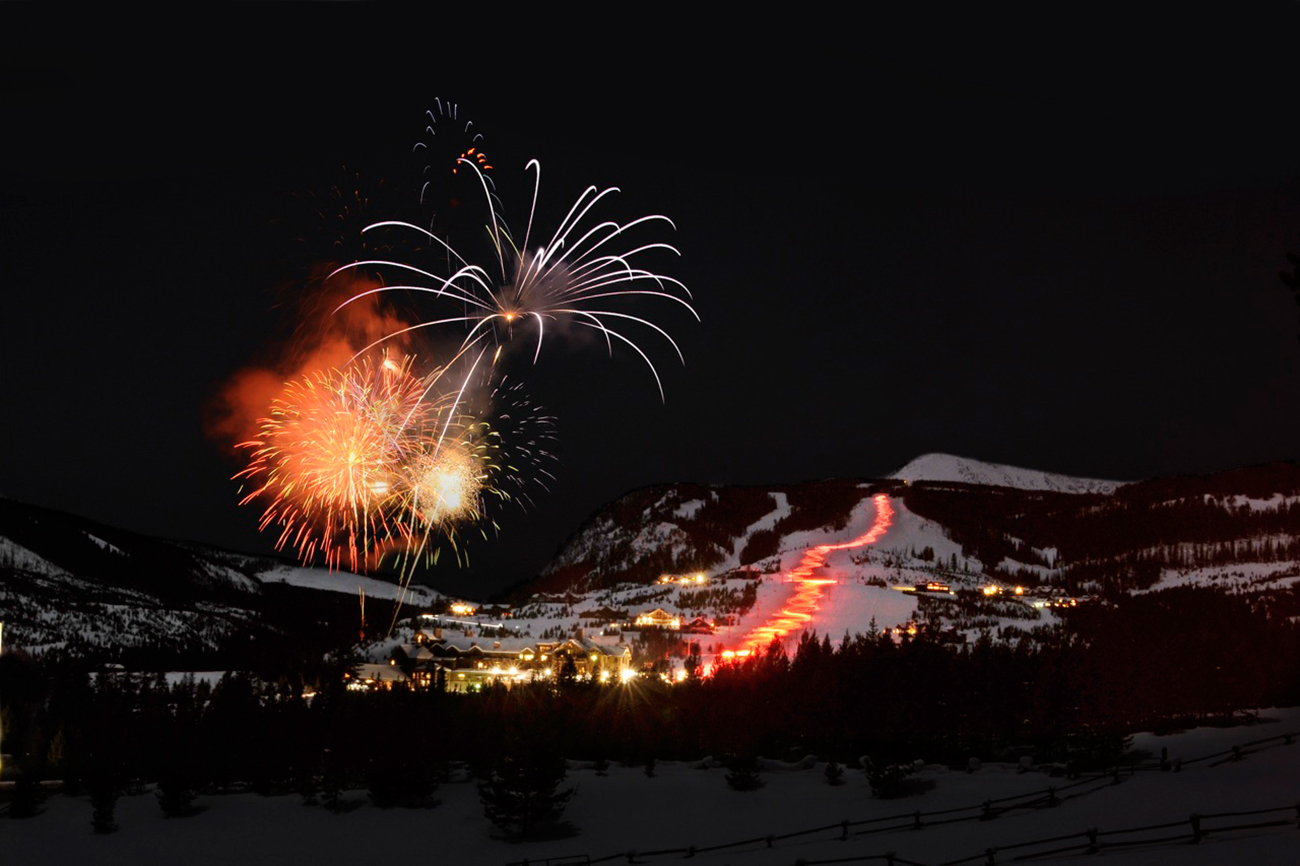 New Year's Eve at Yellowstone Club.