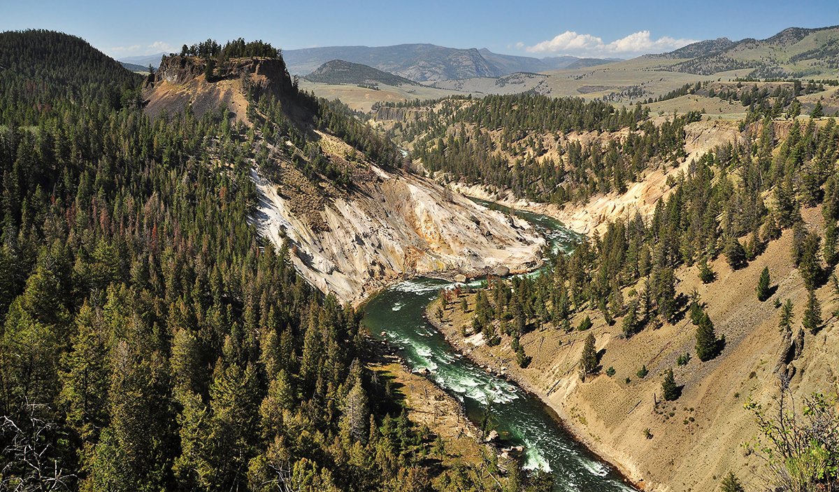 destination yellowstone national park Yellowstone national park, established in 1872, is one of america's oldest and most beautiful national parks open to the public the park uniquely spans three states: wyoming, montana, and idaho yellowstone features a depth of biodiversity that makes preservation of this global treasure a high .