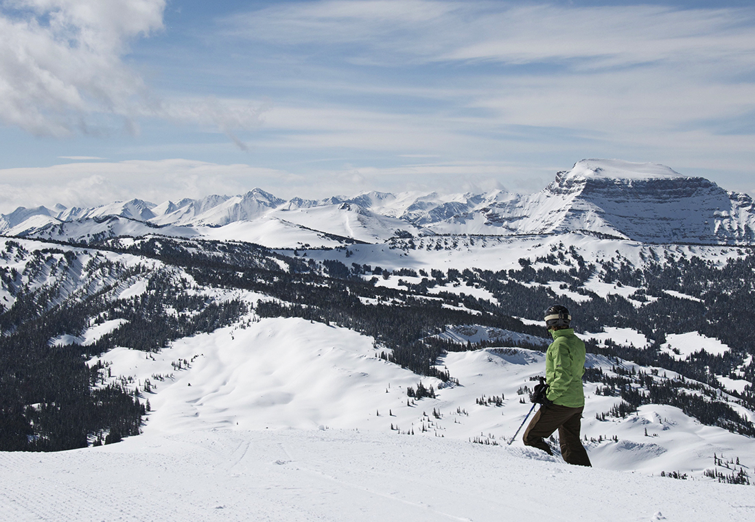 Your own private ski wilderness.