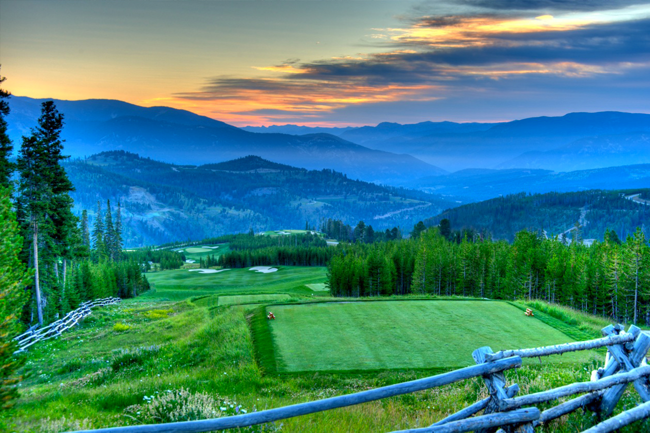 The Weiskopf course at Yellowstone Club is challenging and fun.